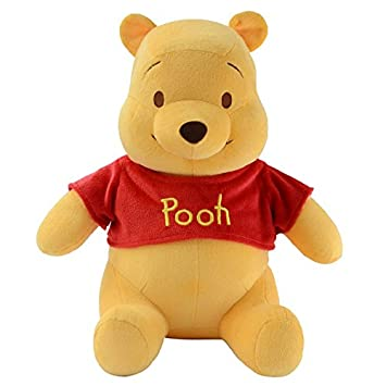 88c64061c8bd Buy White Star All Fluffy Winnie The Pooh Plush Stuffed Teddy Bear (Large)  Online at Low Prices in India - Amazon.in