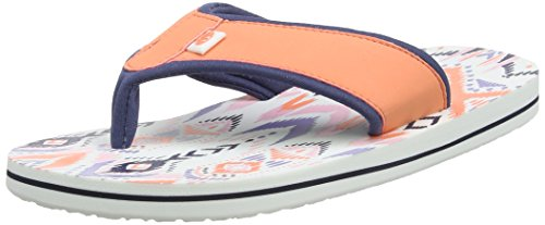 Animal Womens Swish Upper AOP Flip Flops Summer Pink REenyrnVX