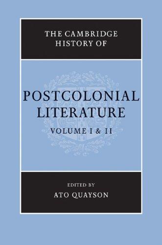 Download The Cambridge History of Postcolonial Literature Pdf