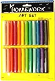 Modeling Clay - 24 sticks asst. colors 48 pcs sku# 92867MA