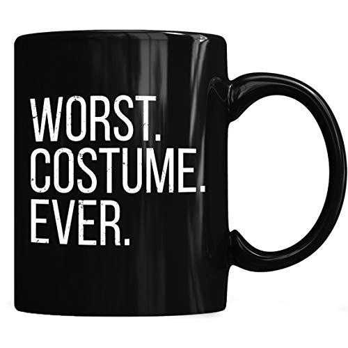Worst costume ever Mug, Halloween Mug Coffee Mug 11oz & 15oz Gift Black Tea -