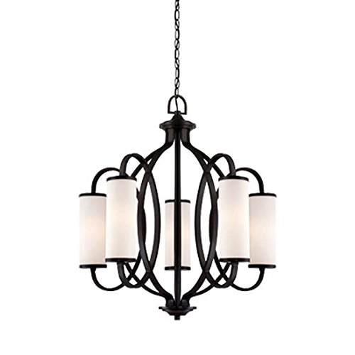 Designers Fountain 84485-ART Bellemeade 5 Light Chandelier