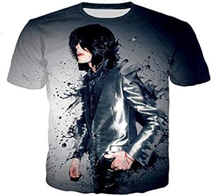 JJZHY Camiseta de Manga Corta para Hombre y Mujer Michael Jackson con Estampado 3D Regalos de Michael Jackson,Negro,XXL: Amazon.es: Deportes y aire libre