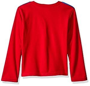 DC Comics Boys' Superman Uniform 2-Piece Fleece Pajama Set