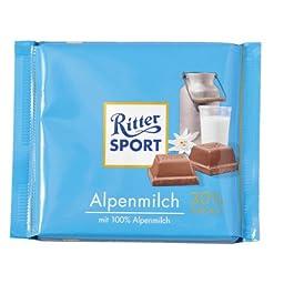 Ritter Sport Alpine Milk-Pack of 3