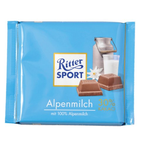 Ritter Sport Alpine Milk-Pack of 3
