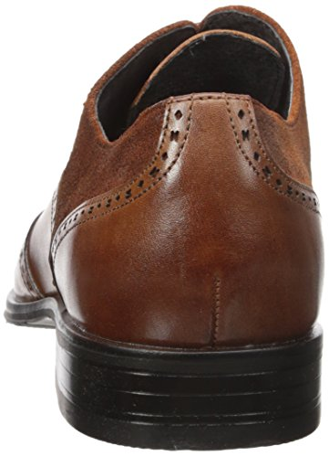 Stacy Adams Hombres Stanbury Wingtip Oxford Cognac