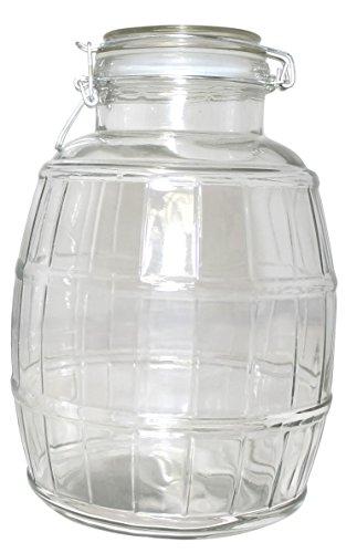 glass barrel jar - 7