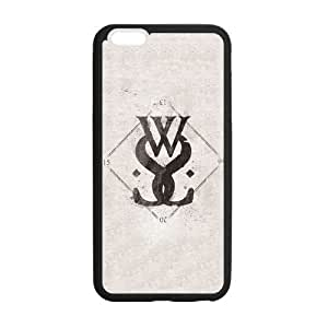 the Case Shop- While She Sleeps Music Band TPU Rubber Hard Back Case Silicone Cover Skin for iPhone 6 Plus 5.5 Inch , i6pxq-730