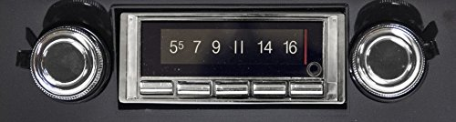 USA-740 fits only unmodified OEM dash 1973-1979 Ford Truck (see photos) Includes bonus installation connector pack, 300 watt AM FM Car Stereo/Radio - Built-in Bluetooth, AUX Inputs, Color LCD Display