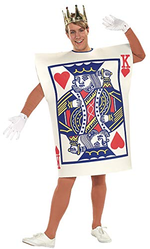 Alice In Wonderland Costumes For Men (Rubie's Men's King of Hearts Costume, As Shown, One)