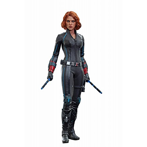 Movie Masterpiece Avengers/ The Age of Ultron Black Widow 1/6 Scale Plastice Painted Action Figure by Hot Toys -