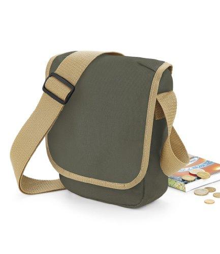 BagBase - Bolso de hombro Hombre - CLASSIC RED/ WHITE