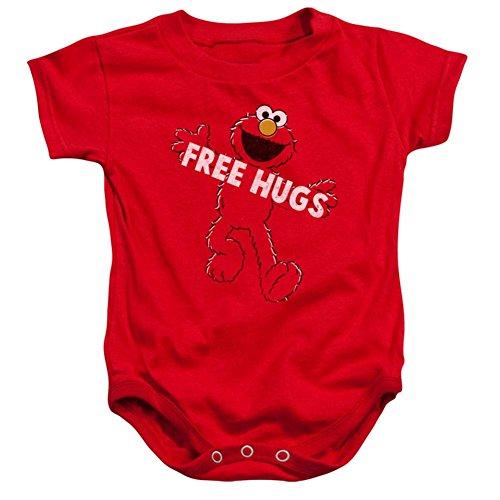 Infant: Sesame Street- Elmo Free Hugs Onesie Infant Onesie 1 x - Free Onesie