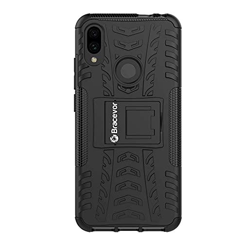 Bracevor Back Cover for Xiaomi Redmi Note 7  TPU+Plastic|Black