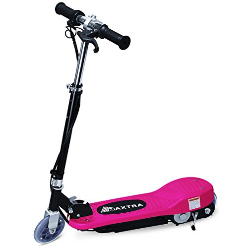 Maxtra E120 Electric Scooter Motorized Scooter Bike Rechargeable Battery Rose - up to 12mph