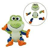 Animoodles Magnetic Miguel Frog Stuffed Animal Plush