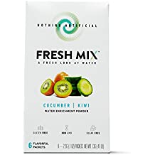 Fresh Mix Instant Drink Mix, Cucumber Kiwi, 6 Count (Pack of 3)