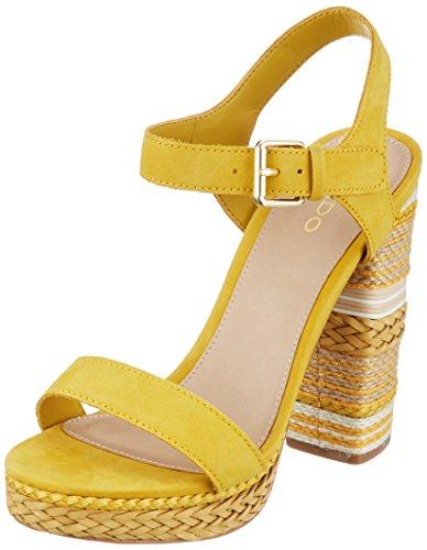 golden 2 Sandales Femme Aldo Bride Yellow Cheville Huglag Jaune wP1HyUqxSf
