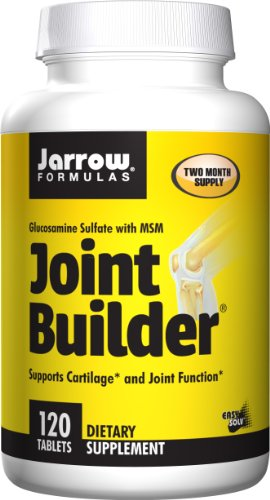Jarrow Formulas Joint Builder, Supports Cartilage and Joint Function, 120 Easy-Solv Tabs