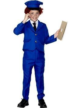 Smiffy s - Disfraz infantil de Pat el cartero 084b6490d10