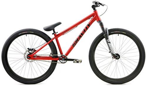 Gravity CoJones Pro Dirt Jump Bike 26 Inch Wheel Rock Shox P