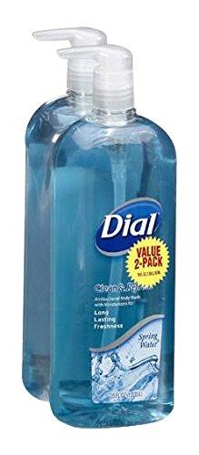 Dial Body Wash Spring Water, 35 fl.oz., 2 Piece