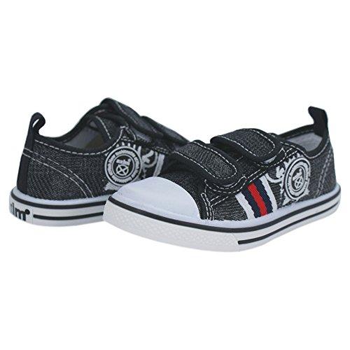 Sportschuhe für Jungen Sneaker zu Schule (11616) Schwarz