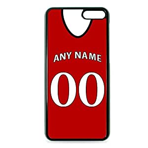Case Fun Case Fun Personalised Arsenal Football Shirt, Any Name, Any Number Snap-on Hard Back Case Cover for Amazon Fire Phone