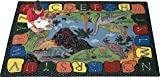 We Dig Dinosaurs Rug - 3.8 Foot x 5.33 Foot Rectangle