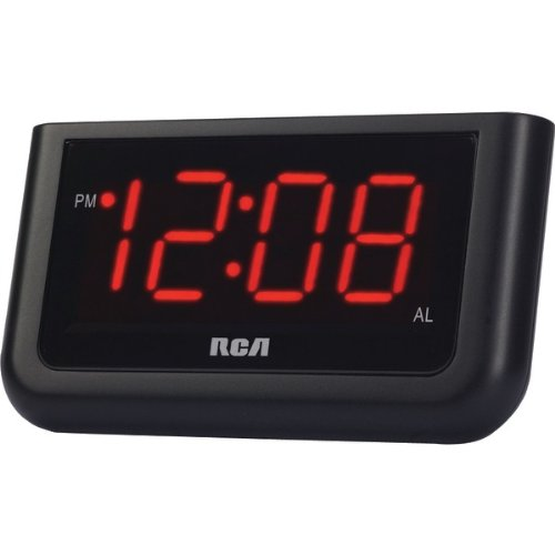 RCA RCD30 ALARM CLOCK WITH 1.4 RED DISPLAY, Model#: RCD30