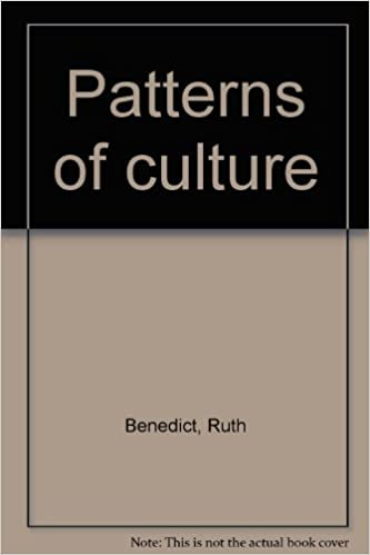 Patterns Of Culture Amazoncouk Ruth Benedict Books Mesmerizing Patterns Of Culture