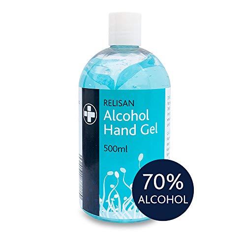 🥇 Relisan – Gel desinfectante de manos con alcohol