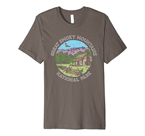 Retro Great Smoky Mountains National Park Vintage - Girls Backpack Hawk For