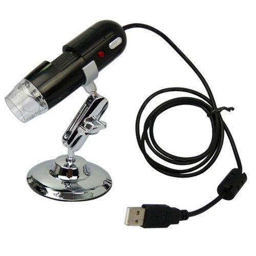 AGPtek®  Black USB Digital Microscope 2 Mega Pixel Video Ca
