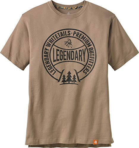 Legendary Whitetails Men's Ranger Short Sleeve T-Shirt Sand X-Large