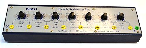 1/% Accuracy 1 to 11.11111 Megaohm Resistance Range AEMC BR07 Resistance Decade Box