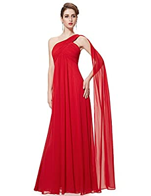 Ever Pretty Womens One Shoulder Floor Length Evening Dress 09816