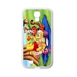 Custom Winnie The Pooh Back Cover Case for SamSung Galaxy S4 I9500 JNS4-310 by runtopwell