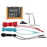 MS2302 Digital Resistance Meter Ground Earth Tester 0-4K ohm Insulation Tester Multimeter with LCD Backlight Display