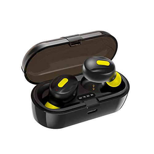Moonwalk Mini Earbuds with Magnetic Charging Case