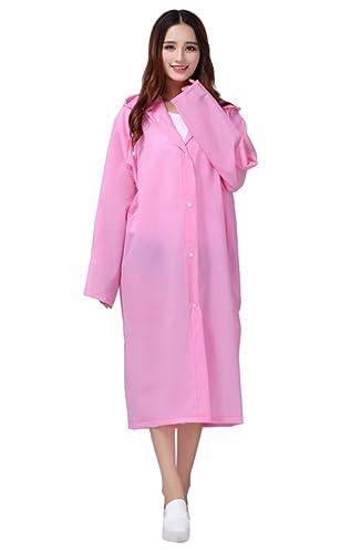 Yiyida - Abrigo impermeable - chaqueta - para mujer