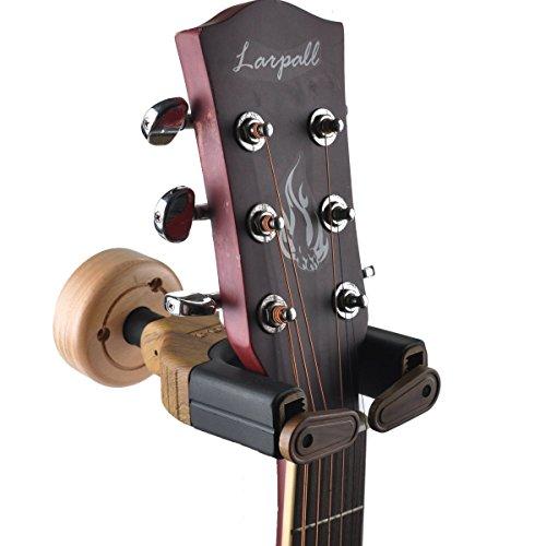 guitar wall hanger auto lock rack hook holder loietnt multiple guitar stands wall mount bracket. Black Bedroom Furniture Sets. Home Design Ideas