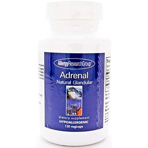 Adrenal Natural Glandular Milligrams Capsules