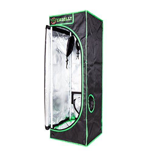 Casolly 16''x16''x48'' Mylar Hydroponic Grow Tent for Indoor Planting by Casolly