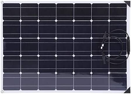 EBTOOLS 150W Solarpanel Solar Ladegerät Monokristalline Solarmodule Solaranlage Sonnenkollektor mit 20A Solarregler + 10M MC4 Verlängerungskabel, für Auto Motorrad Traktor Boot 12V Batterien
