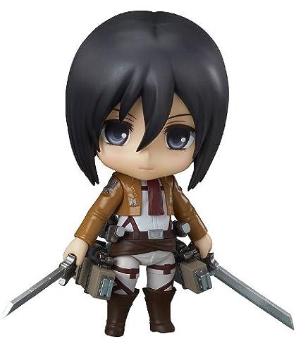 Good Smile Attack on Titan: Mikasa Ackerman Nendoroid Figure (Attack In Titan Dvd)