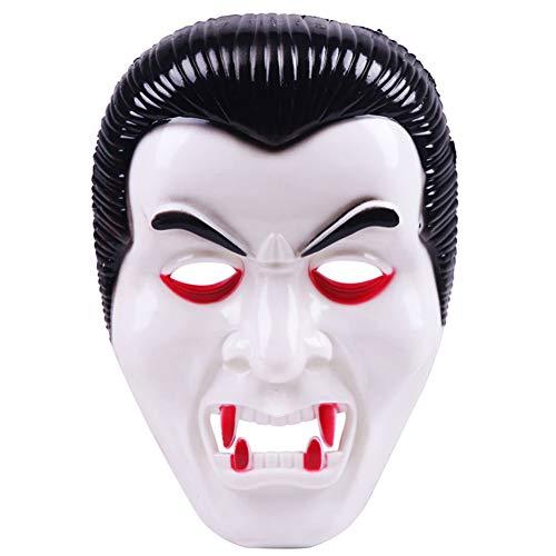TT.er Halloween Vampire Masques, Blanc Zombi Masques Costume Prop Pour Mascarade Cosplay Carnaval ()