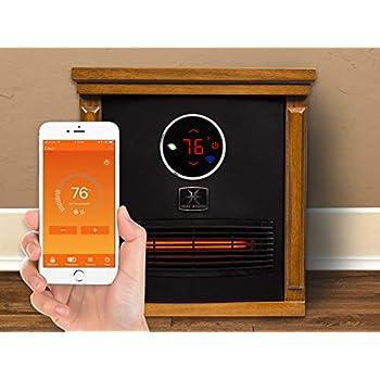 Amazon.com: Calor Storm Logan portátil estufa infrarroja de ...