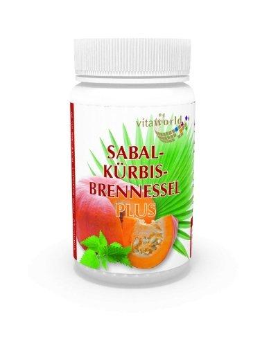 3 обновления Сабал тыквой крапива плюс 180 Капсулы Vita World немецкого производства аптеки